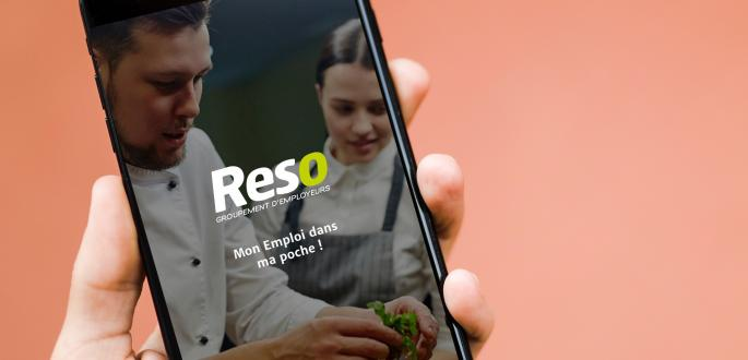 Application mobile Reso Emploi
