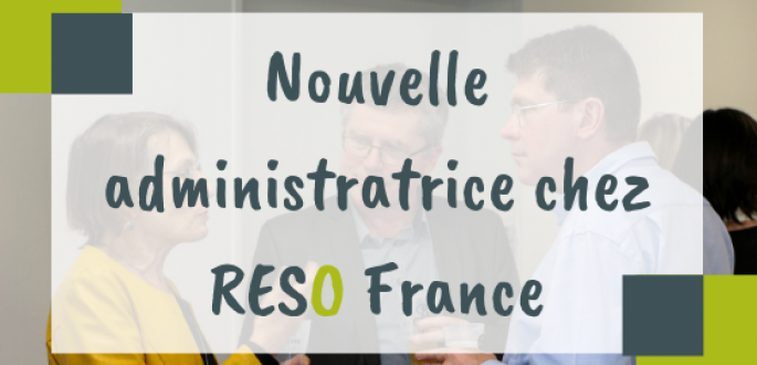 Visuel nouvelle administratrice RESO France